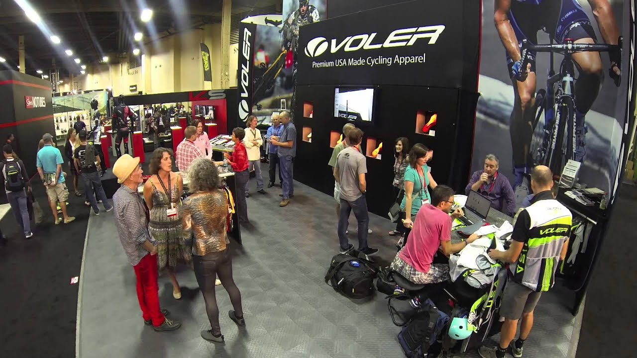 dbec0736d Voler Interbike Booth 2013 - YouTube