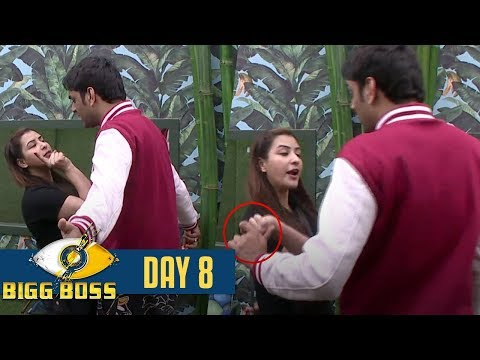 Bigg Boss 11 | Day 8 | OMG ! Vikas Gupta PHYSICALLY ASSAULTED Shilpa Shinde | 9 Oct 2017