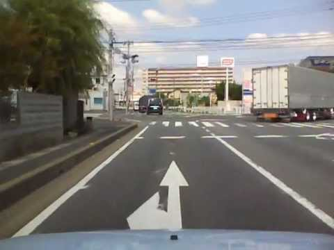 埼玉県道54号(バイパス一部) 02 松戸草加線 三郷→草加 - YouTube