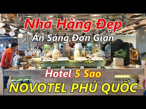 Buffet Đơn Giản ở Khách Sạn Novotel Phú Quốc cùng VINH LAM TV