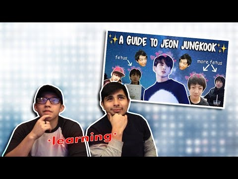 GUYS REACT TO BTS 'An Introduction to BTS: Jungkook Version' #1