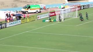 Gol de Patrik  no primeiro jogo do ano entre Goiás x Vila Nova