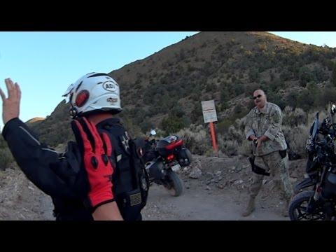 Shocking Area 51 Arrest & Guns Drawn at Gunpoint by Cammo Dudes (Secret Back Entrance) - FindingUFO