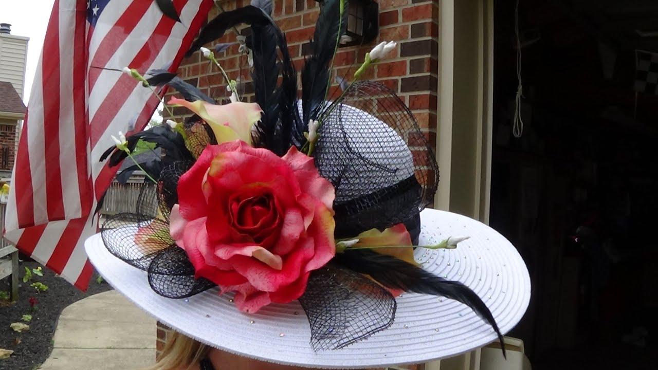 Diy Kentucky Derby Hat