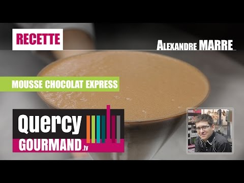 Recette : Mousse chocolat express – quercygourmand.tv