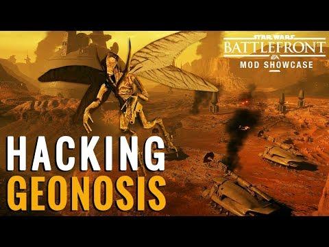 Hacking Geonosis in Star Wars Battlefront 2 (Free Roam - Take 2)