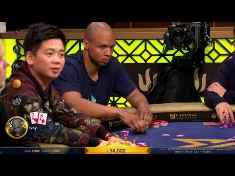 Triton Poker 2018 Ante €3,000 Button €6,000 Cash Game | Triton Short Deck Ante Only | Part 2