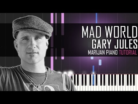 How To Play: Gary Jules - Mad World | Piano Tutorial
