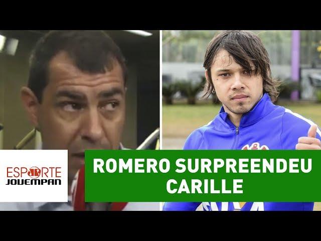 Romero surpreendeu Carille com um fundamento. Saiba qual!