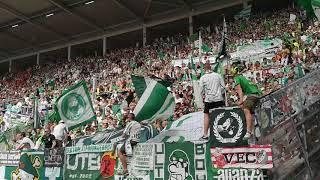 FSV Mainz 05 - SV Werder Bremen (12.05.2018) * Endlich 2. Liga HSV * Pyro Show * Warm machen Werder