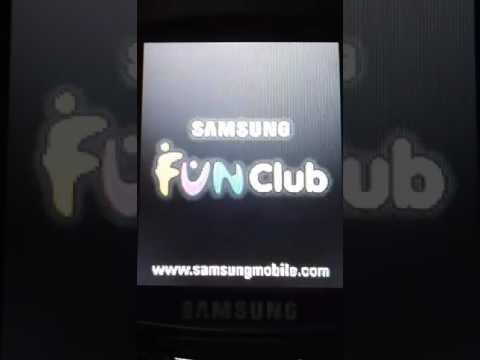 Samsung SGH-E250 Startup/shutdown 2