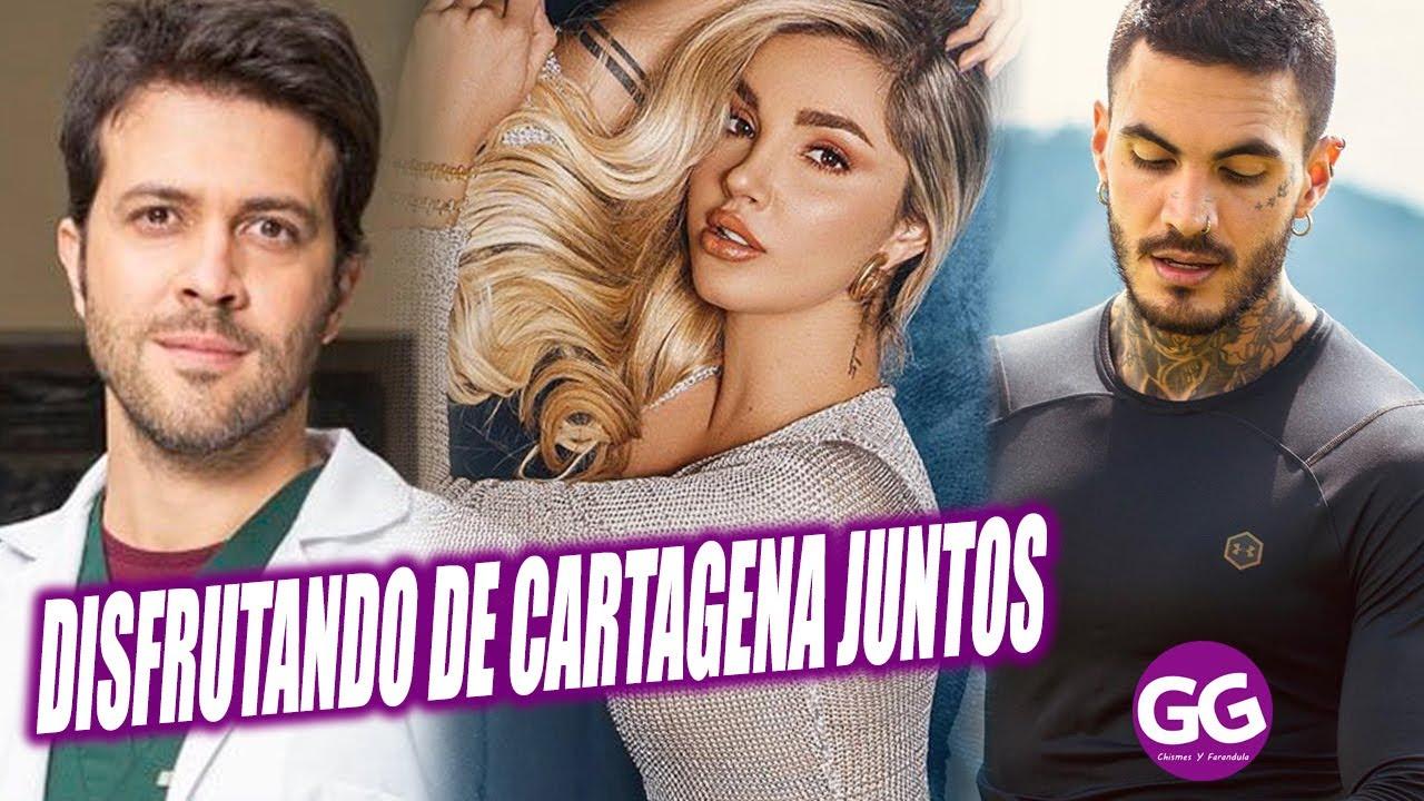 Melina Ramirez Y Juan Manuel Mendoza Juntos En Cartagena Youtube