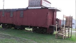 Caboose at the Depot Howell Michigan