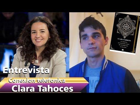 Entrevista a Clara Tahoces | Cuaderno de investigación de fenómenos extraños