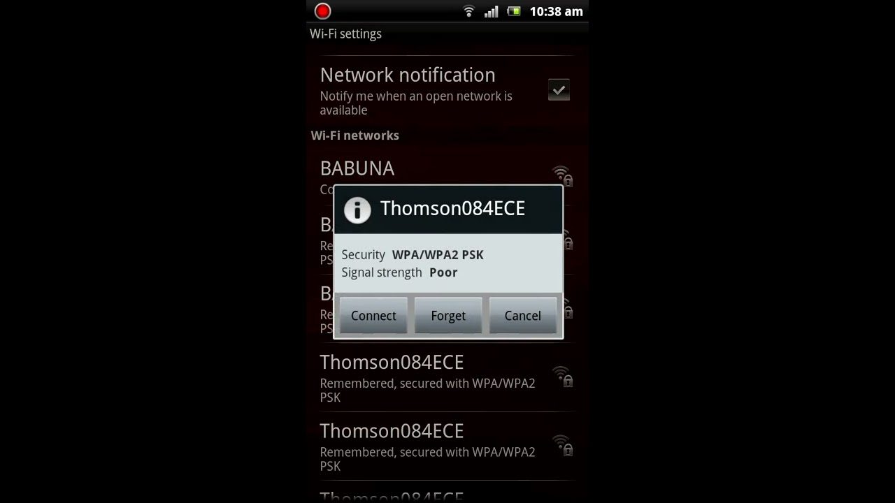 Crack wifi password android without root