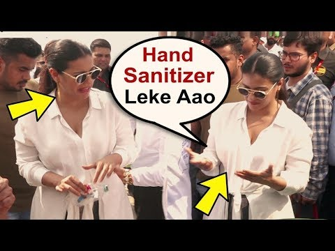 Kajol's Unbelievable TANTRUMS in front of Husband Ajay Devgan During Garbage Clean Up At Mahim Beach