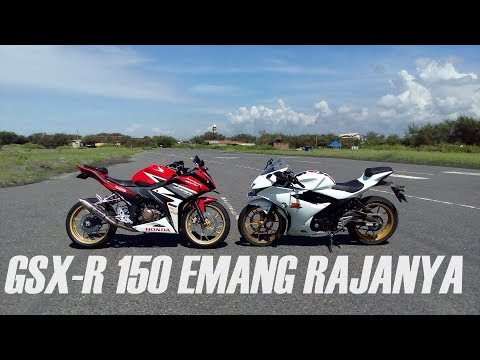 DUEL SENGIT CBR 150R (Juken 3 + Knalpot Racing) VS GSX-R 150