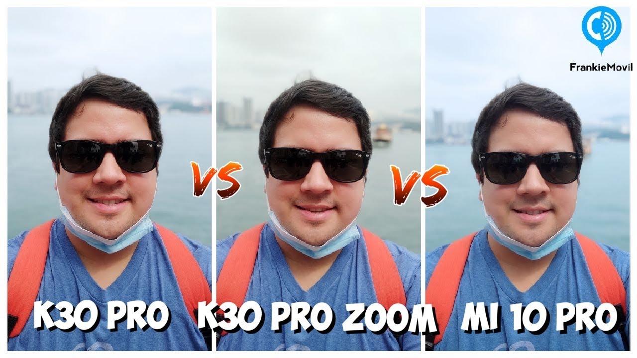 Redmi K30 Pro vs K30 Pro Zoom vs Mi 10 Pro - Prueba de Cámaras!