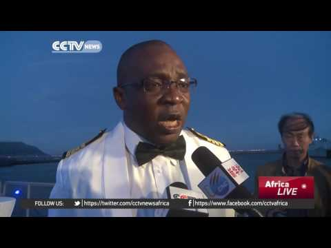 The Nigerian Navy Offshore Patrol Vessel Made by China Visits