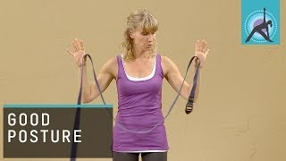 Using a Yoga Strap for a Good Posture