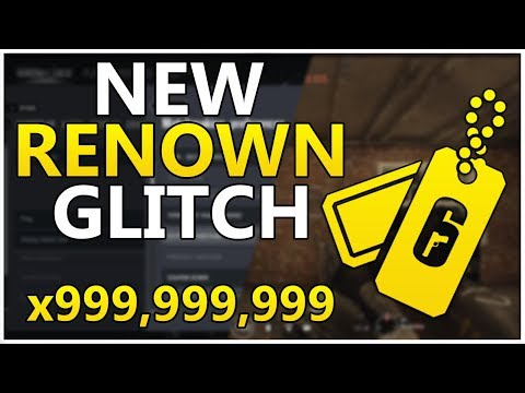 NEW Unlimited Renown Glitch!!! - Ultimate Renown Farming Method! - Rainbow Six Siege Glitches