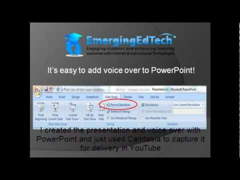 5 Easy Steps for Adding Voice-Over to PowerPoint