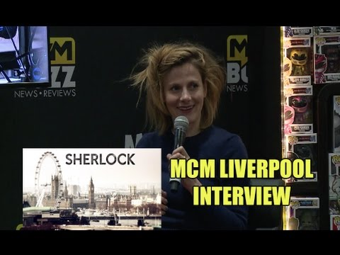 Exclusive : Sherlock's Louise Brealey