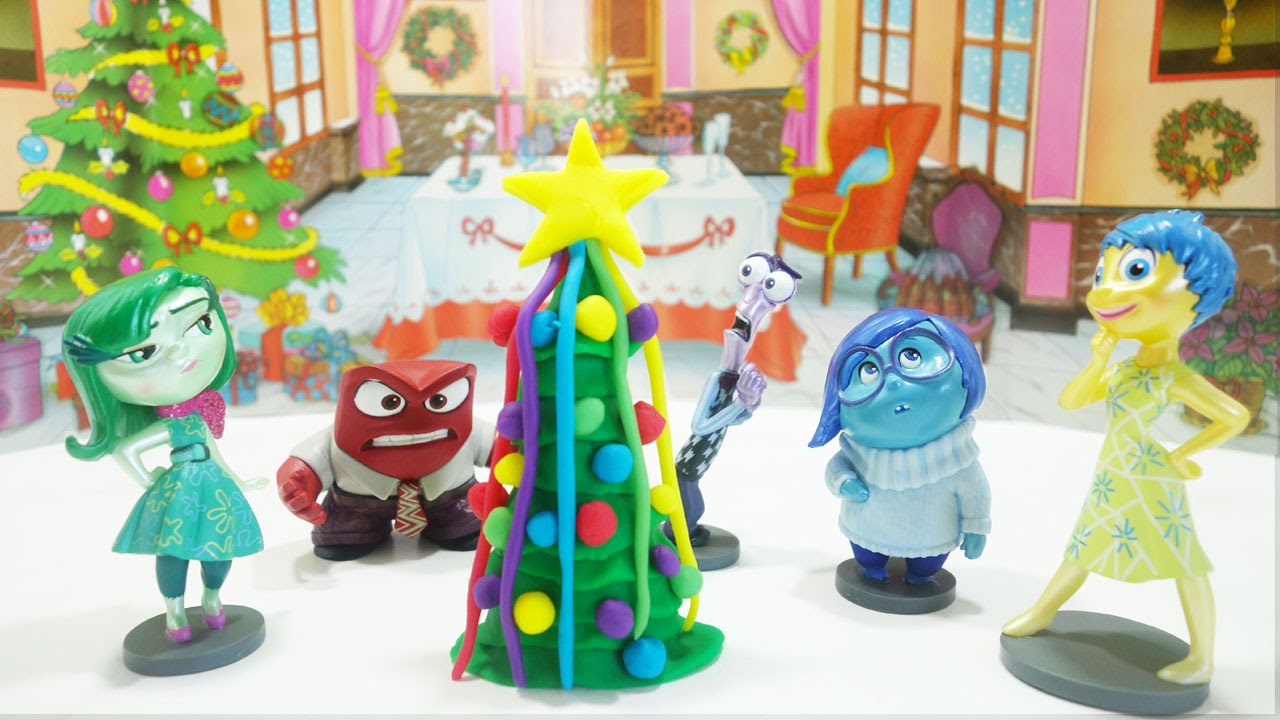 PLAY DOH INSIDE OUT CHRISTMAS TREE How to make Christmas Tree With ...