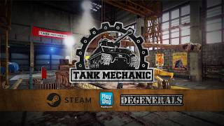 Tank Mechanic Simulator - Official Trailer