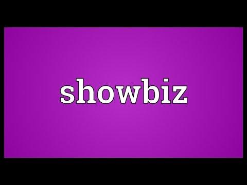 Showbiz Meaning