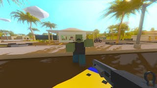 Unturned NEW Gameplay | Action Adventure Free-To-Play Survival Online Game (4K 60FPS)