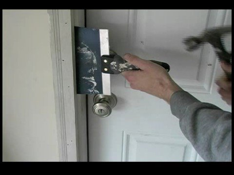 how to replace a garage entry door removing brick mold on a garage