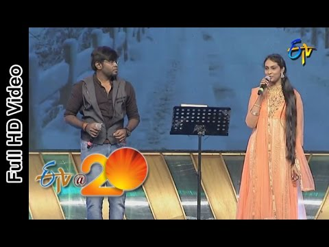 Deepu And Anjana Performs - Banthi Poola Janaki Song In Srikakulam ETV @ 20 Celebrations