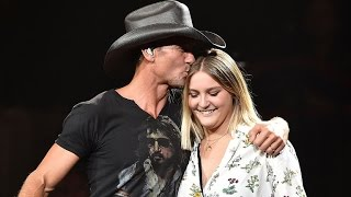 EXCLUSIVE: Tim McGraw Says Daughter Gracie Is 'Way More Talented' Than Him