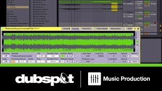 Dubspot Ableton Live 9 Tutorial - Sampling the Human Voice w/ Chris Petti  @ Decibel Festival 2013