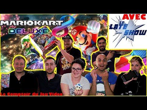 Test MARIO KART 8 DELUXE : LE jeu multi ! - Avec Le Late Show