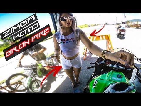 2º ZIMBA MOTO | GATAS | GRAU E CORTE  A MILHÃO NA BR-101