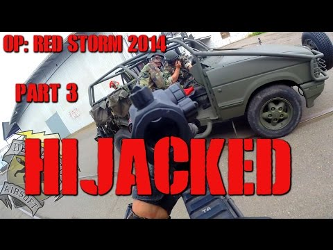 DesertFox Airsoft Operation Red Storm 2014 Part 3: Hijacked (Elite Force 4CRS and 1911 TAC)