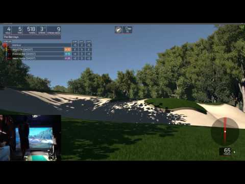 TGC Sim Golf - Bethpage State Park Black, The Barclays - Round 1, 90 - 8/29/16
