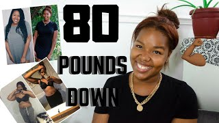 80 LBS DOWN!!! | Weight loss update , Straight sized? + TEAMI SKINNY review