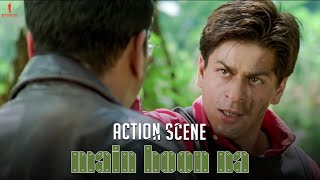 Main Hoon Na | Action Packed Scene | Shah Rukh Khan, Amrita Rao, Zayed Khan