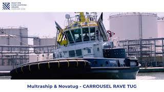 Maritime KVNR Shipping Award 2018: Multraship & Novatug - CARROUSEL RAVE TUG