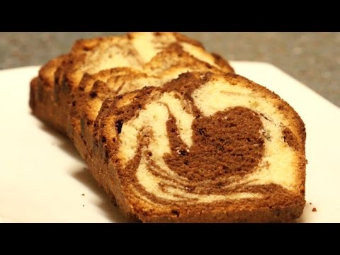 Chocolate Marble Pound Cake Recipe - Video Culinary
