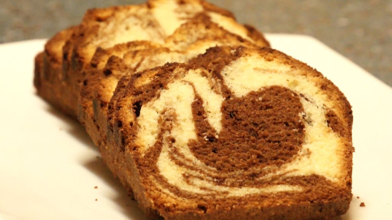 Chocolate Marble Pound Cake Recipe Video Culinary Youtube