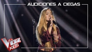 Malu Salgado canta 'Russian roulette' | Audiciones a ciegas | La Voz Kids Antena 3 2019