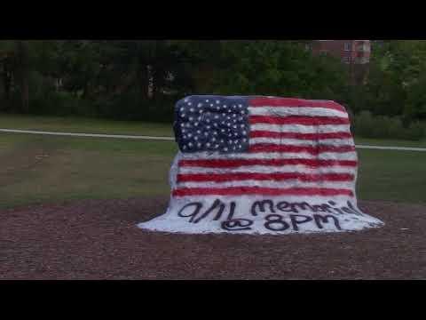 9/11 Memorial at the Rock 2017