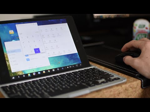 Convert a Nexus 9 to a Laptop! (Remix OS 2.0)