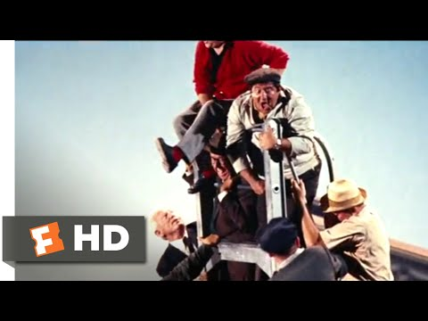 It's a Mad, Mad, Mad, Mad World (1963) - Ladder Rescue Scene (9/10) | Movieclips