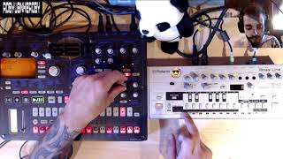 TB-303 ACID SOUND ON KORG EMX: english TUTORIAL!!!