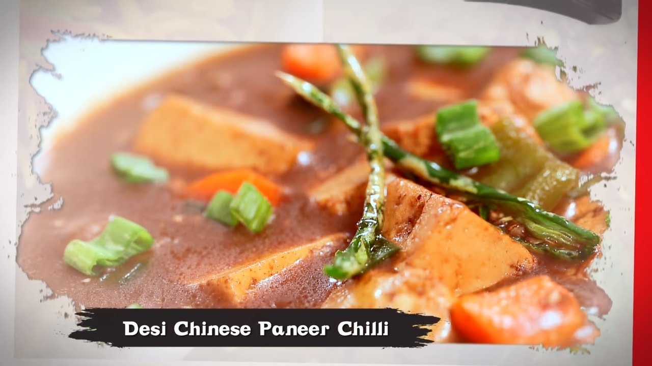 Paneer Chilli पन र च ल Chilli Paneer Gravy Recipe In